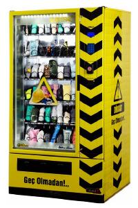 kişisel koruyucu donanım otomat makinaları
