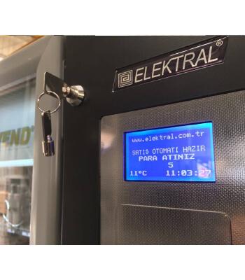 yiyecek içecek veren makine