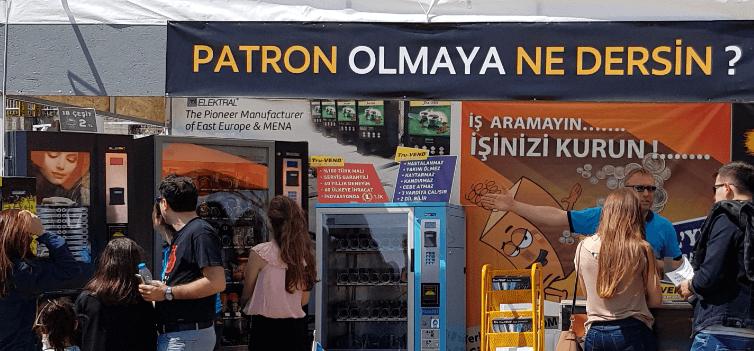 yeni iş fikirleri otomat makineleri